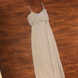 Tart Gray Maxi Dress XS